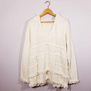 Tory Burch Baja Hooded Sweater